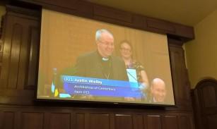 Archbishop Justin speaks...